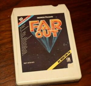 Ronco Presents 8 Track Tape , Far Out , 20 Songs by Various Original Artists