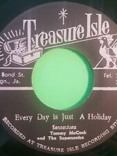 TREASURE ISLE EVERYDAY IS JUST A HOLIDAY  / PSYCHEDELIC REGGAE SENSATIONS
