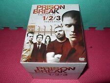 prison break - temporadas 1, 2 y 3 - dvds