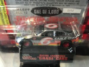 PROTOTYPE RC Chrome Chase Car 1:64 Mark Martin #6 Eagle One 1998 Ford #0000