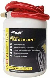 AirMan Universal Tyre Sealant - 450ml Valve through - Replacement Car Sealant