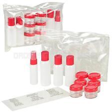 WENGER Kosmetik Toiletten Reise Set 12-tlg Handgepäck Flug Behälter Umfüllen