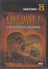 DVD - Los Diez Mandamientos : Las Leyes Del Hombre History FAST SHIPPING !