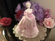 """Coalport Figurine - """"LEONIE"""" Limited Edition In Candy Pink"""