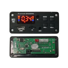 Car FM Radio Car Bluetooth Speaker Module MP3 Decoder Board Music Player Welcome