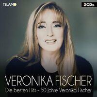 Veronika Fischer - Die Besten Hits-50 Jahre Veronika Fischer 2CD NEU OVP