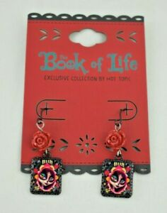 The Book of Life (2014) Decorative Earrings (Hot Topic Exclusive Collection) New