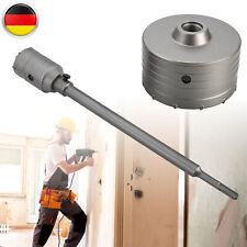 SDS MAX profi Bohrkrone Schlagbohrkrone DM 90 mm mit Aufnahme und Bohrer