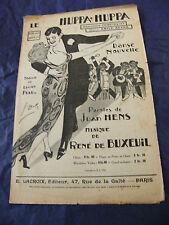 Partition The Huppa Huppa René of Buxeuil 1924 Music Sheet