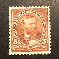 US Stamp # 255 OG H $110