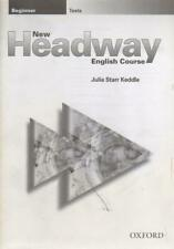 New headway english course Beginner Tests - Julia Starr Keddl - 60410 - 2250761