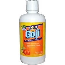 Now Foods Goji Super Fruit Antioxidant Juice - 32 fl oz (946 ml)