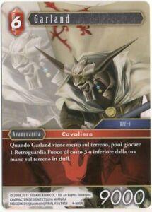 Final Fantasy TCG Garland Opus IV 4-005R ITA Mint