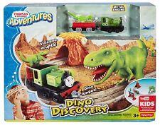 Fisher-Price Thomas & Friends Adventures Dino Discovery track set w/Luke    *NU*