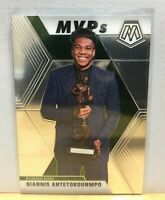 2019-20 Panini Mosaic Basketball GIANNIS ANTETOKOUNMPO MVP #297 Base Bucks 🔥🔥