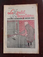 Tintin - Petit Vingtième n°6 - 09/02/1939 - SPLENDIDE COUVERTURE TINTIN - TTBE!!