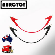 Test Leads for Multimeter Meter Power Clips alligator High Current Soft cable AU