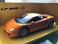 1:18 Lamborghini LP 560-4 Orange Diecast Car Mondo Motors