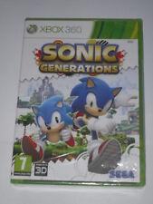 Jeu vidéo XBOX 360 Sonic Generations neuf