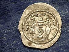 Anatolien Empire: 519 Ad Hormizd IV Argent Dirham En Très Rare Au Grade