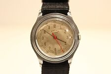 "VINTAGE RARE WW2 ERA MILITARY STYLE SWISS MEN'S 35mm WATCH ""ORFINA"" ANCRE 15 J."