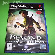 BEYOND GOOD AND EVIL NUEVO Y PRECINTADO PAL ESPAÑA PLAYSTATION 2 PS2