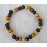 New Wooden/Glass Beaded Charm Bracelets All Saints & 2 Row Ball Stretch Bracelet