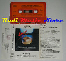MC ANTONELLO VENDITTI Cuore 1984 1 STAMPA ITALIANA HEINZ MUSIC no**cd lp dvd vhs