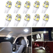 10Pcs LED T10 W5W Bulb Car Interior Readling Lights For Peugeot 307 206 308 407