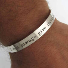 Personalized Sterling Silver Bracelet for men - Cool Mes Gift - Sportsman Gifts