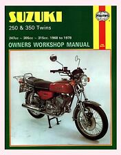 MAN120 Haynes Manual SUZUKI T GT GT250 T250 T305 T350 1968 to 1978