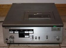 Vintage Sony Betamax Video Cassette Player Vcr Portable Model Slp-303 As Is