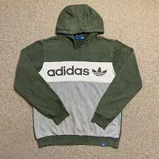 Adidas Vintage Hoodie Spell Out Spellout Jumper Sweatshirt Pullover Retro S