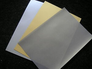 SPECIAL PARCHMENT/PERGAMANO PAPER - price reduction