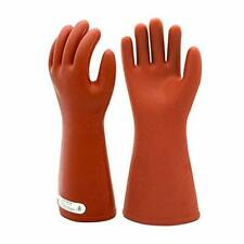 Electrical Insulated Rubber Gloves Electrician 12kv High Voltage Safety Prote