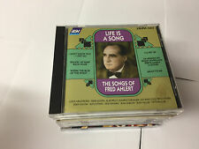 The Songs Of Fred Ahlert : LIFE IS A SONG : CD Album : 1999 : CD AJA 5284