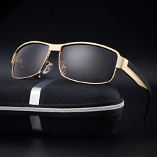 Polarized Mens Retro Pilot Pilot Sunglasses Driving Fishing Eyewear Glasses