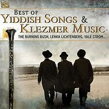 VARIOUS ARTISTS - THE BEST OF YIDDISH SONGS AND KLEZMER MUSIC NEW CD