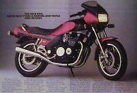1983 Yamaha Seca 900 Original 2 Page Motorcycle Ad