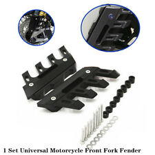 Motorcycle Front Fork Fender Cover Block Protection Mud Flap Splash Guard Trims