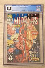 The New Mutants #98 (Feb 1991, Marvel) CGC 8.5 Free Shipping