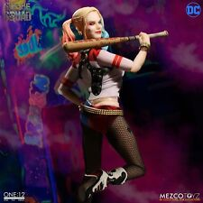 "One: 12 Collective DC Suicide Squad HARLEY QUINN 6"" Figure Mezco 1/12 IN STOCK"