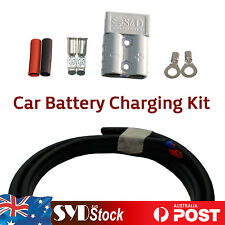 Car Trailer Exterior Charging Kit 8M 6mm Cable Wire 50AMP Connects Plug 12 - 24V