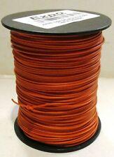 Model Railway, Layout Lighting, DCC Chip etc Wire 100m Roll 10/0.1mm 0.5A Orange