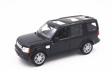 Welly 1/24 Scale Range Rover Land Rover Discovery 4 BLACK Diecast Model 24008