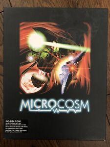 Microcosm PC Rail Shooter Game (Psygnosis, 1993) Big Box Complete