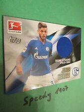 Topps Bundesliga Chrome 2016 Trikot Karte Caicara Schalke Jersey Trikotkarte