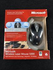 Microsoft Wireless Laser Mouse 5000 (1000 dpi w/ Magnifier & Tilt Wheel) PC MAC