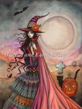 10% Off Heaven & Earth Designs Counted X-stitch chart - The Fanciful Witch