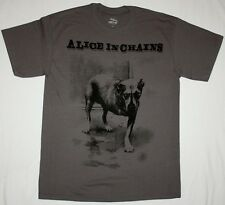 ALICE IN CHAINS DOG GRUNGE SEATTLE PEARL JAM SOUNDGARDEN HOLE NEW GREY T-SHIRT